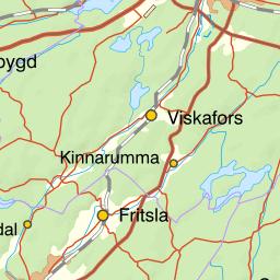 Karta Boras Djurpark.Karta Over Fiskeomradet Atran Assman