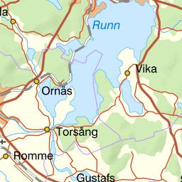 Karta Sverige Borlange.Karta Over Fiskeomradet Dalalven Batstasjon Bysjon Mfl