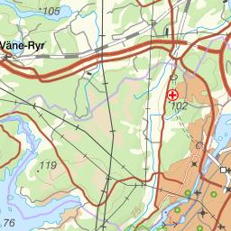 Karta Vanersborg.Karta Over Fiskeomradet Gota Alv Trollhattan Laxstrackan