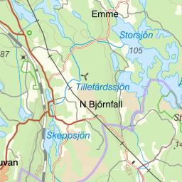 Karta Zinkgruvan.Karta Over Fiskeomradet Tisarens Fvof
