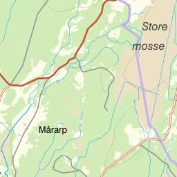 karta över ljungby